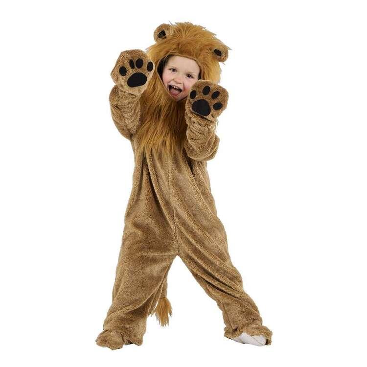 Spartys Lion Plush Kids Onesie