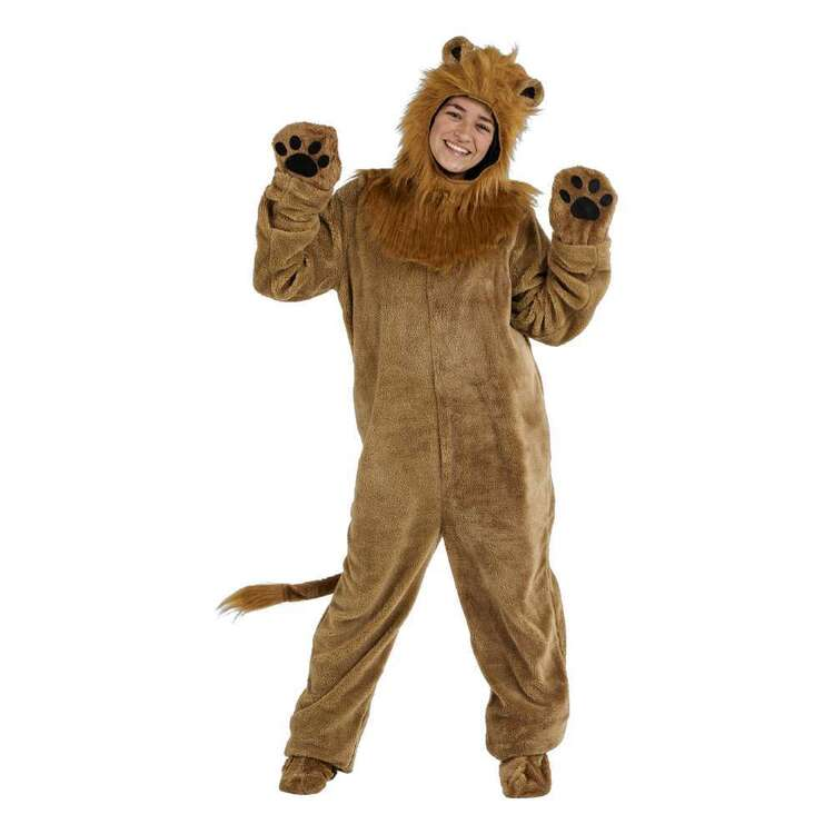 Spartys Lion Plush Adult Onesie