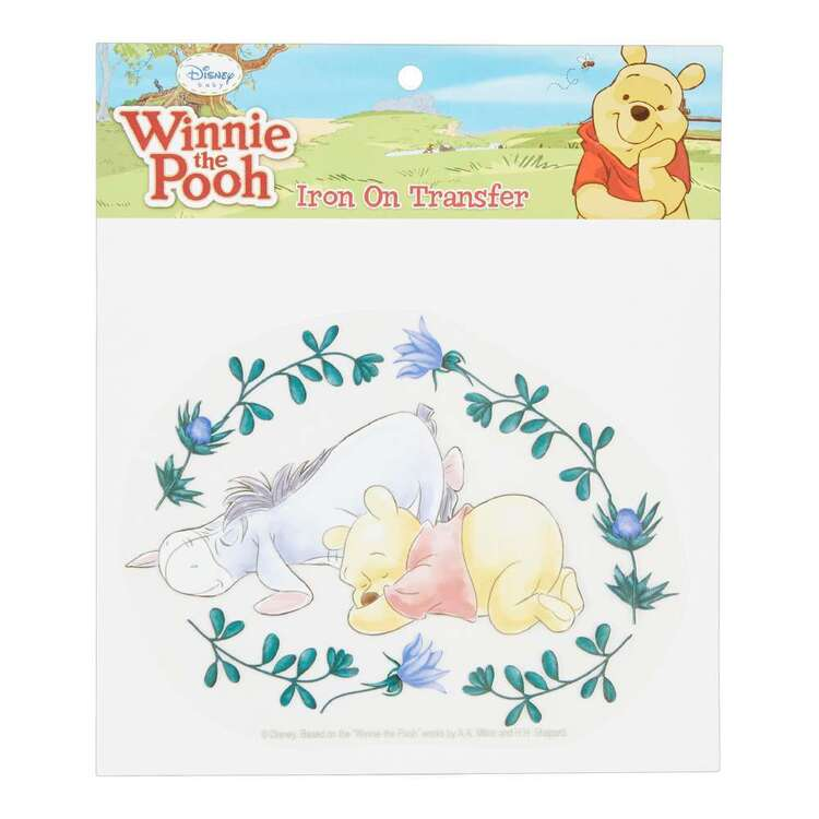 Disney Winnie The Pooh & Eeyore Iron On Transfer