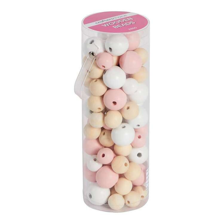 Crafters Choice Tube Wooden Beads