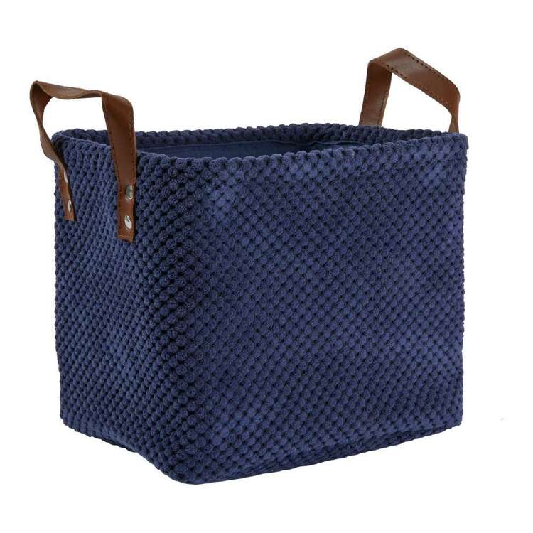 Living Space Set of 3 Corduroy Baskets