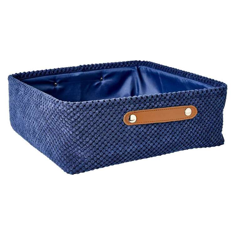 Living Space Set of 4 Corduroy Baskets