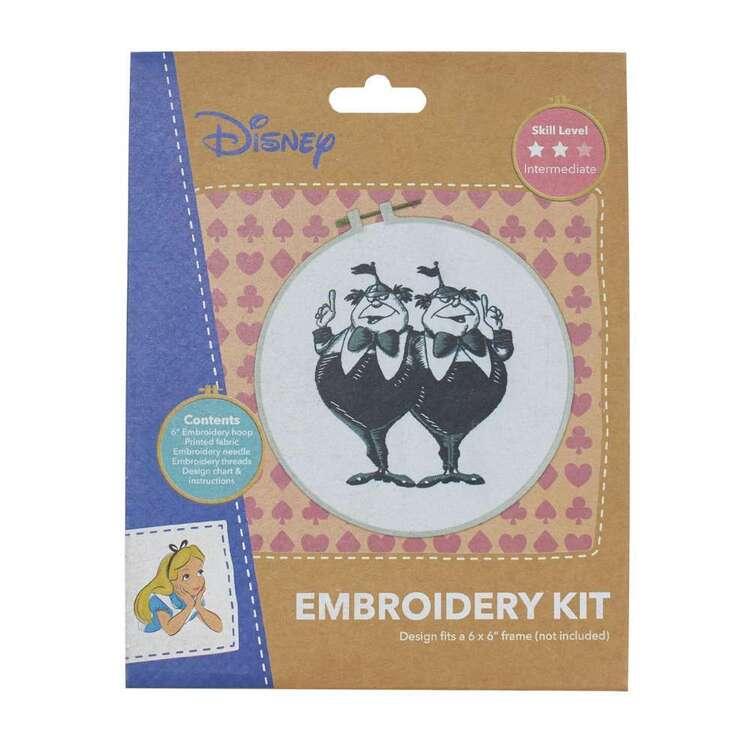 Disney Black & White Twins Embroidery Hoop Kit