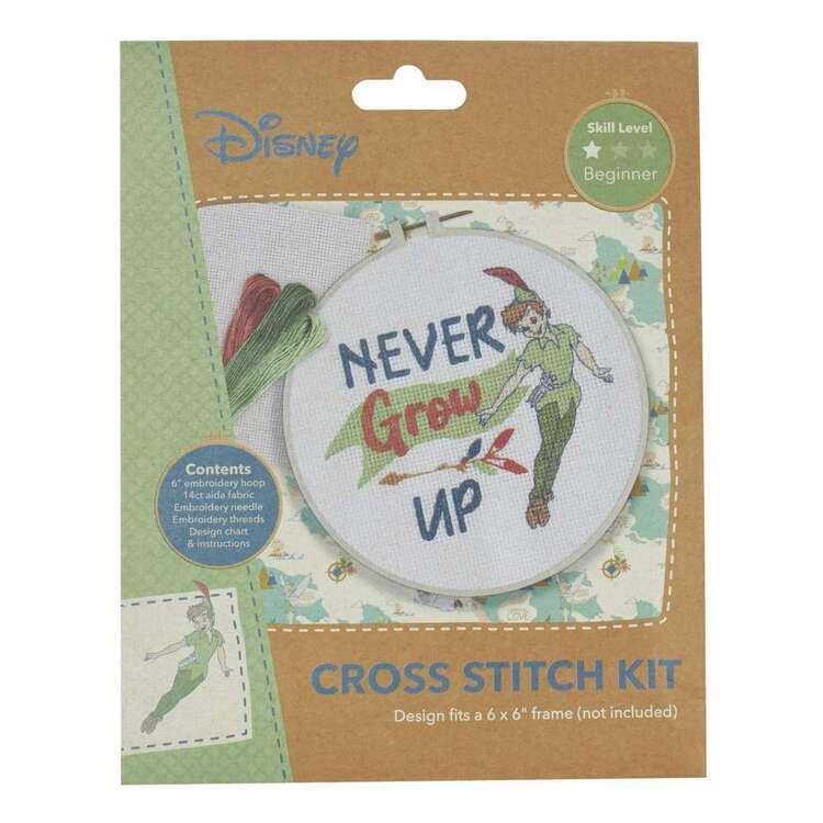 Disney Never Grow Up Cross Stitch Kit
