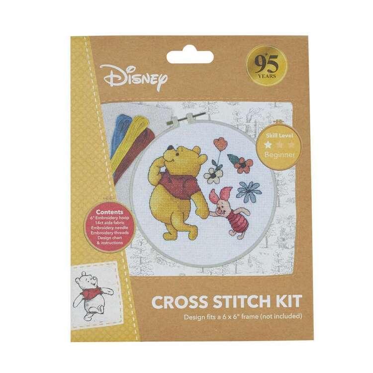 Disney Pooh & Piglet Cross Stitch Kit