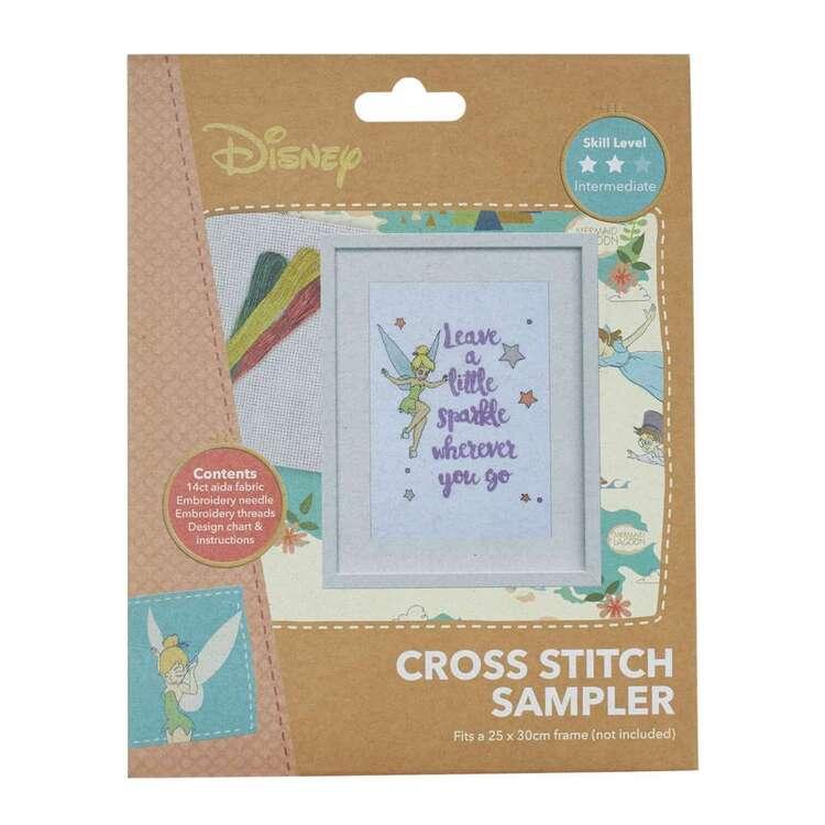 Disney Leave A Little Sparkle Cross Stitch Sampler