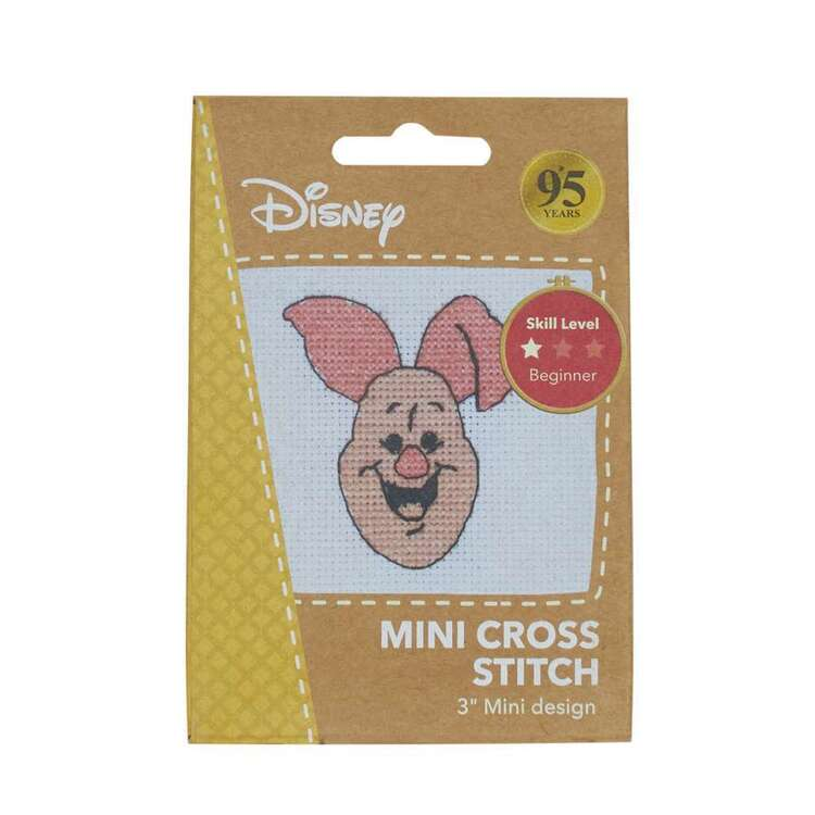Disney Piglet Mini Cross Stitch Kit