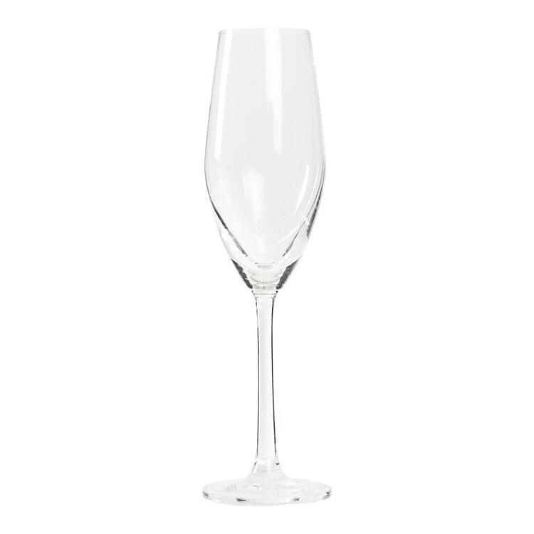 Casa Domani Chiara 4 Pack Champagne Flute Glasses