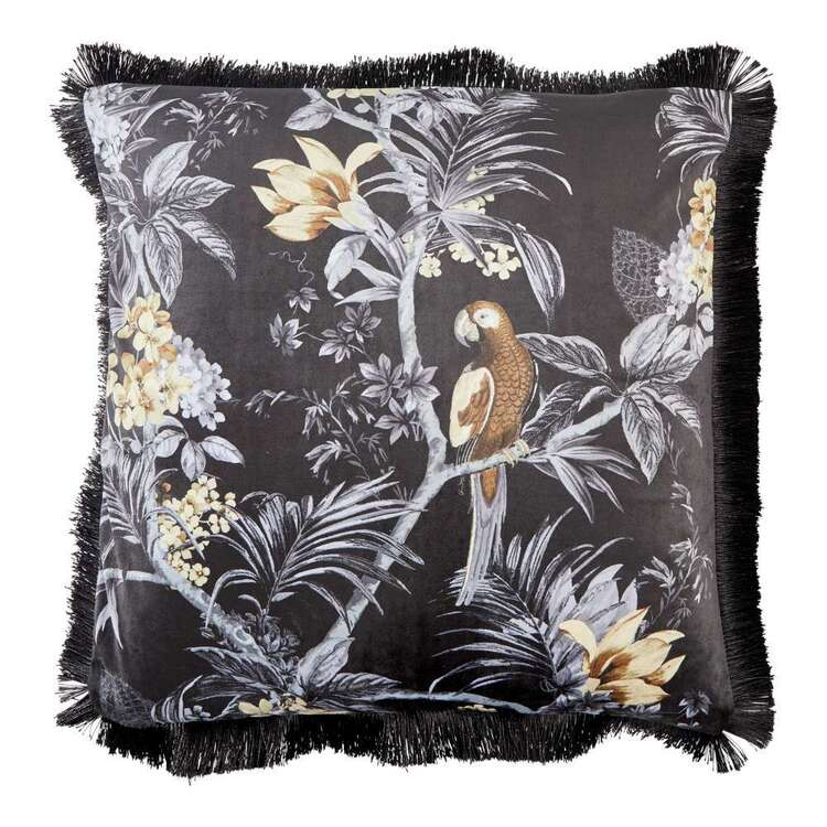 Koo Zena Printed Velvet Cushion