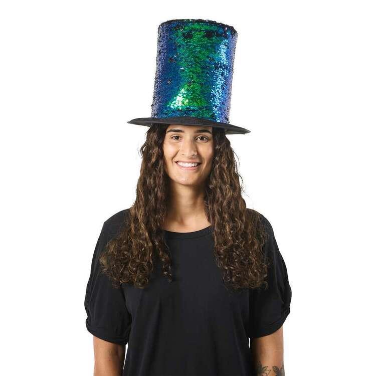 Spartys Novelty Sequin Top Hat