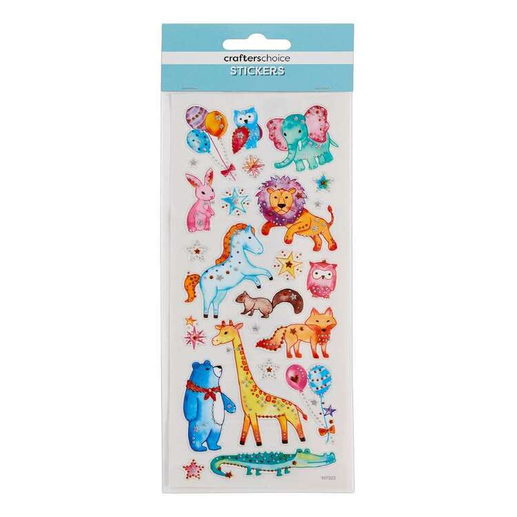 Crafters Choice Cute Animals Stickers