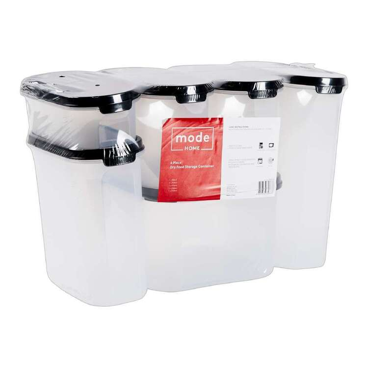 Mode Home 6 Piece Dry Food Storage Container