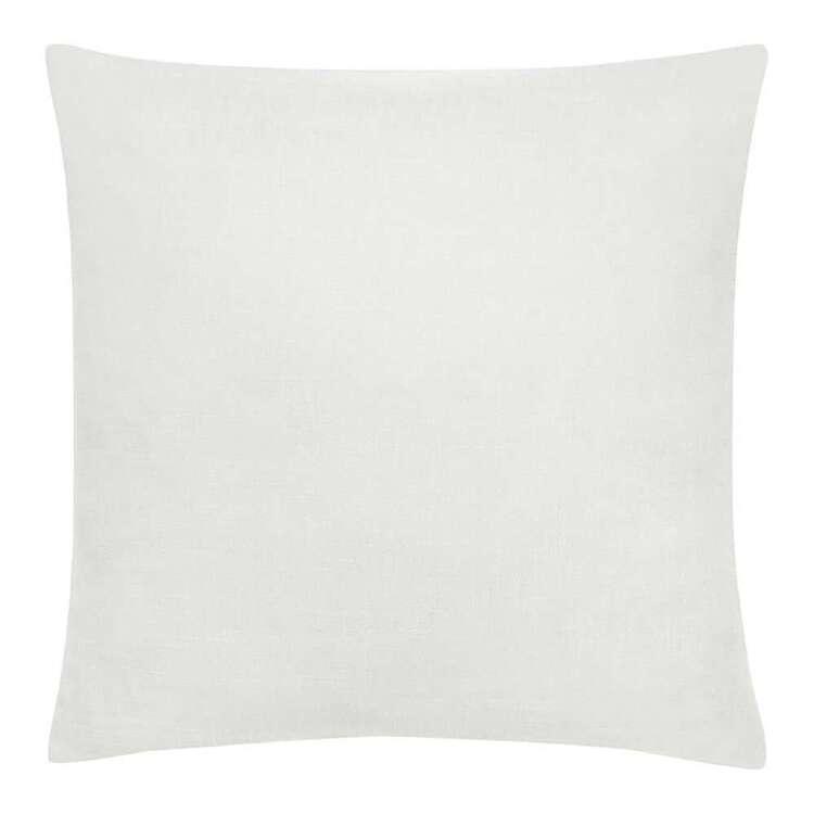Bouclair Botanical Lush Chita White Cushion