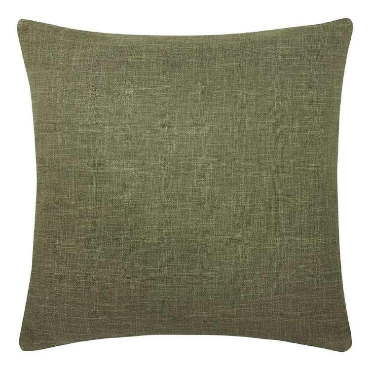 Bouclair Botanical Lush Chita Green Army Cushion