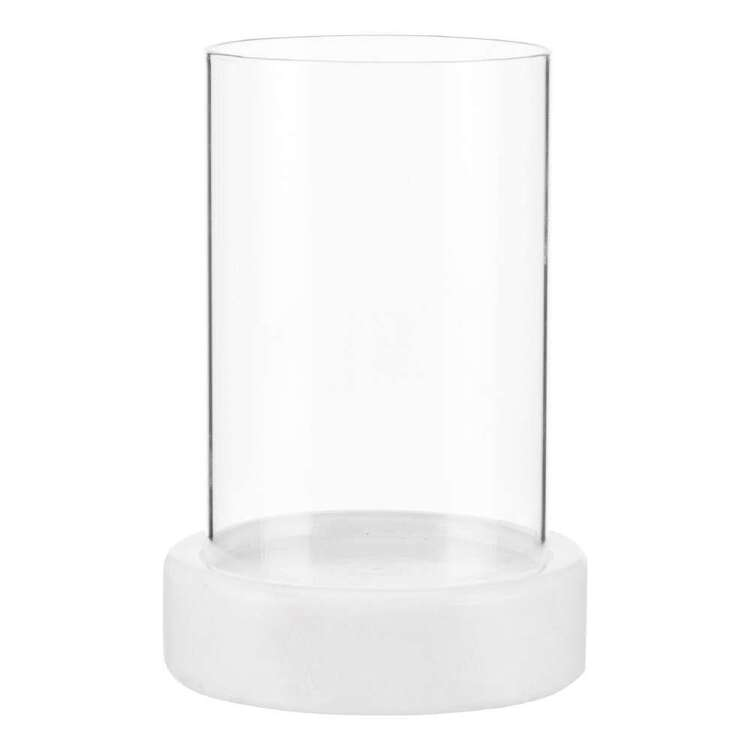 Bouclair Botanical Lush Marble Effect Candle Holder