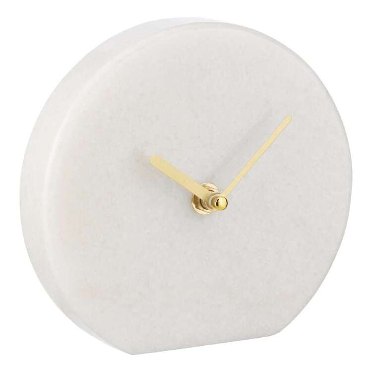Bouclair Botanical Lush Marble Clock