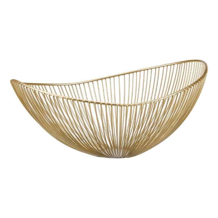Bouclair Botanical Lush Metal Wire Bowl