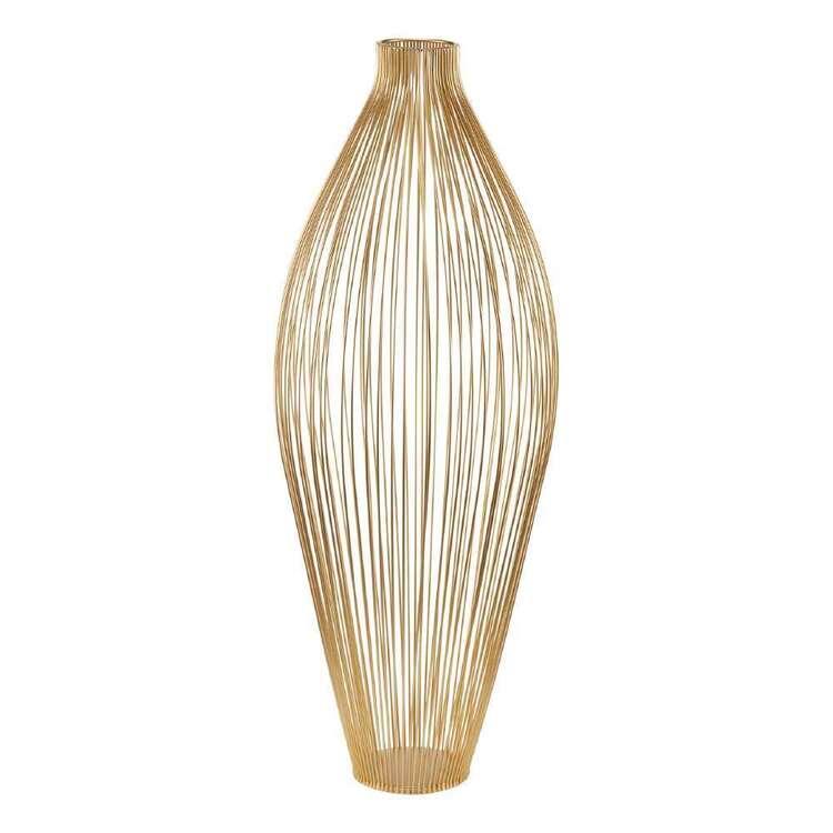 Bouclair Botanical Lush Metal Wire Vase