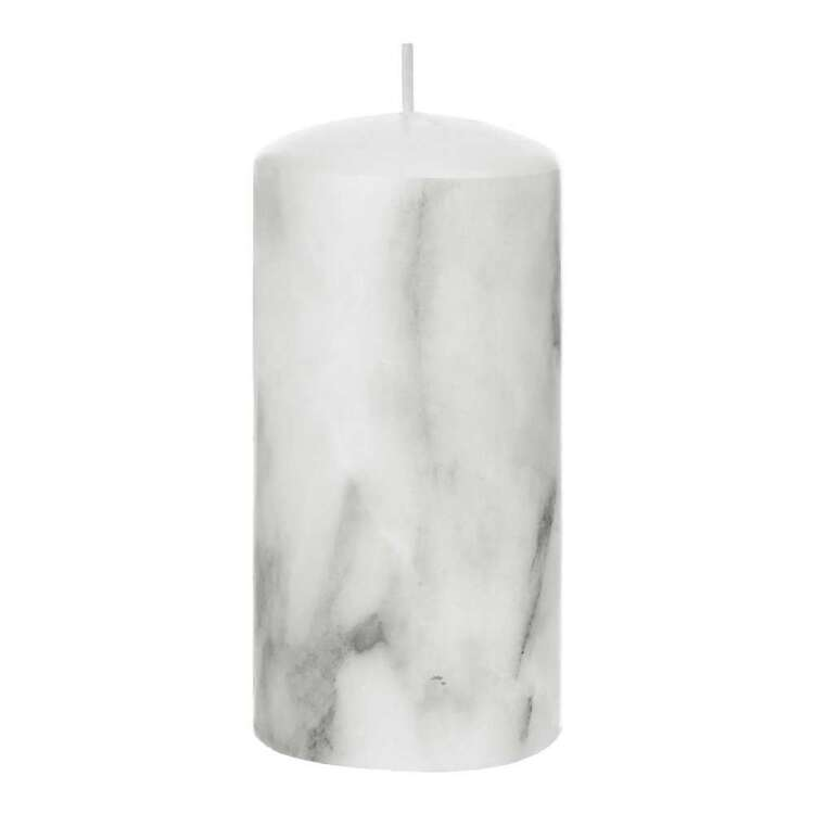 Bouclair Botanical Lush Marble Candle 7.5 x 15 cm