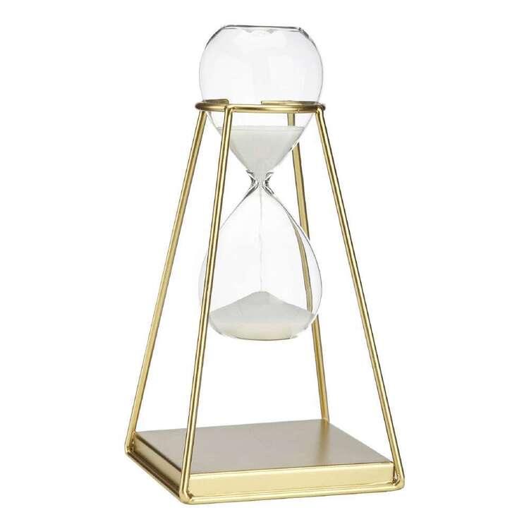Bouclair Botanical Lush Metallic Gold Hourglass