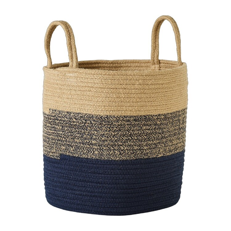 Living Space Cotton And Jute Rope Basket