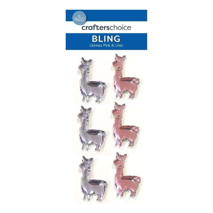 Crafters Choice Bling Llama Stickers