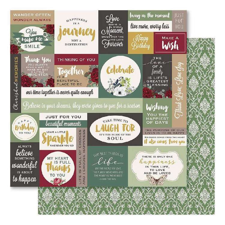 Bella Bloom Proclaim Cardstock Paper