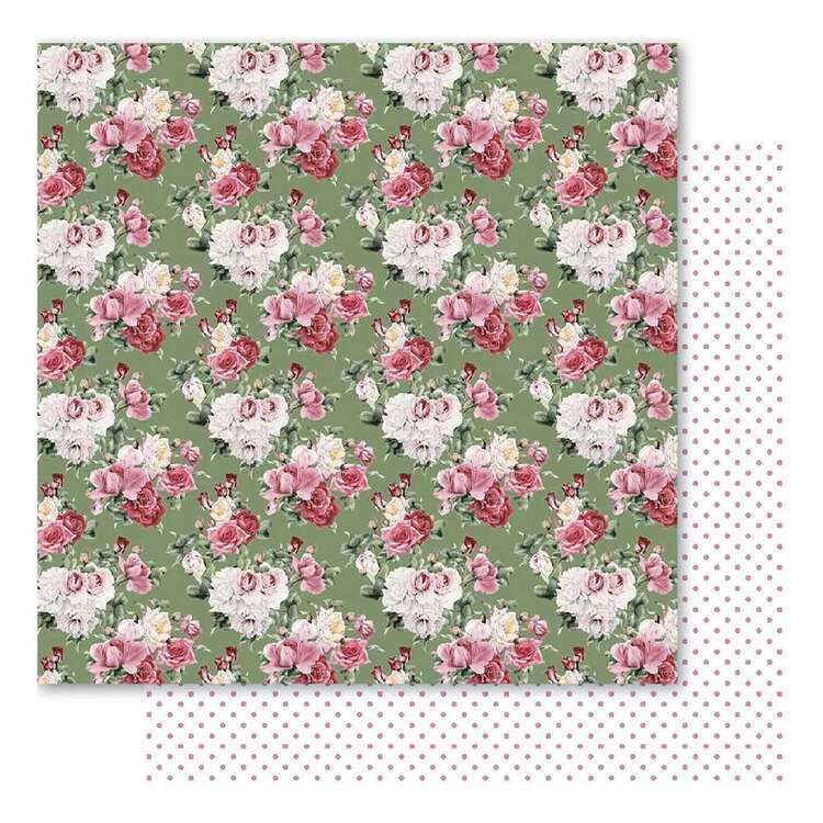Bella Bloom Posy Cardstock Paper