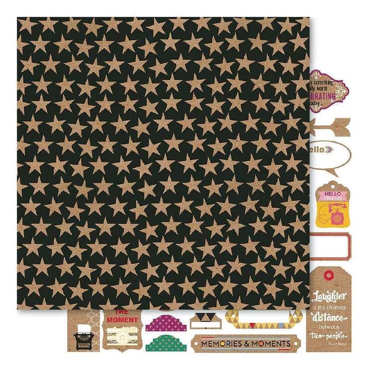 Bella Kraftworx Star Struck Cardstock Paper