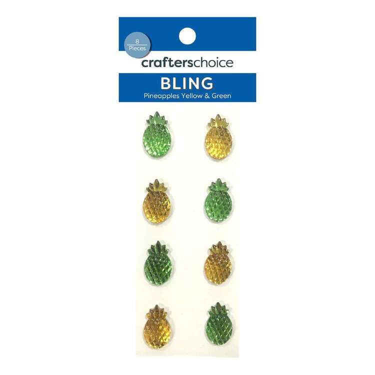 Crafters Choice Bling Pineapple Stickers