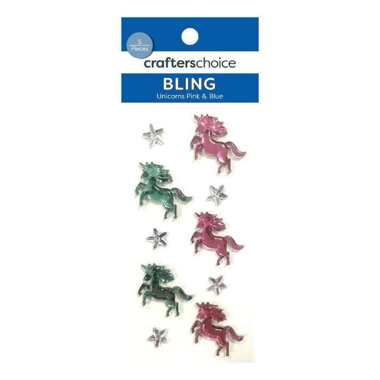 Crafters Choice Bling Unicorn Stickers