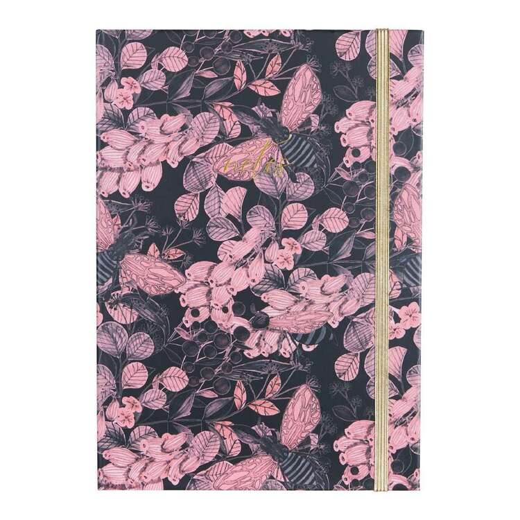 Francheville A5 Pink Floral Notebook