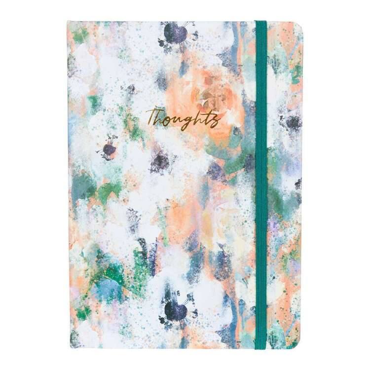Francheville A5 Green Floral Notebook