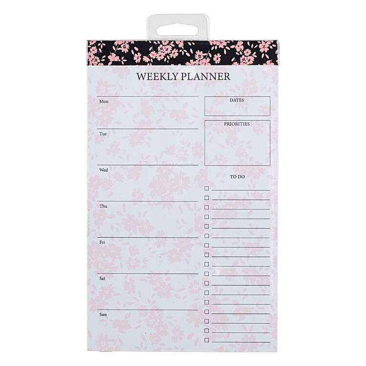 Francheville 120 x 195 mm Floral Weekly Planner