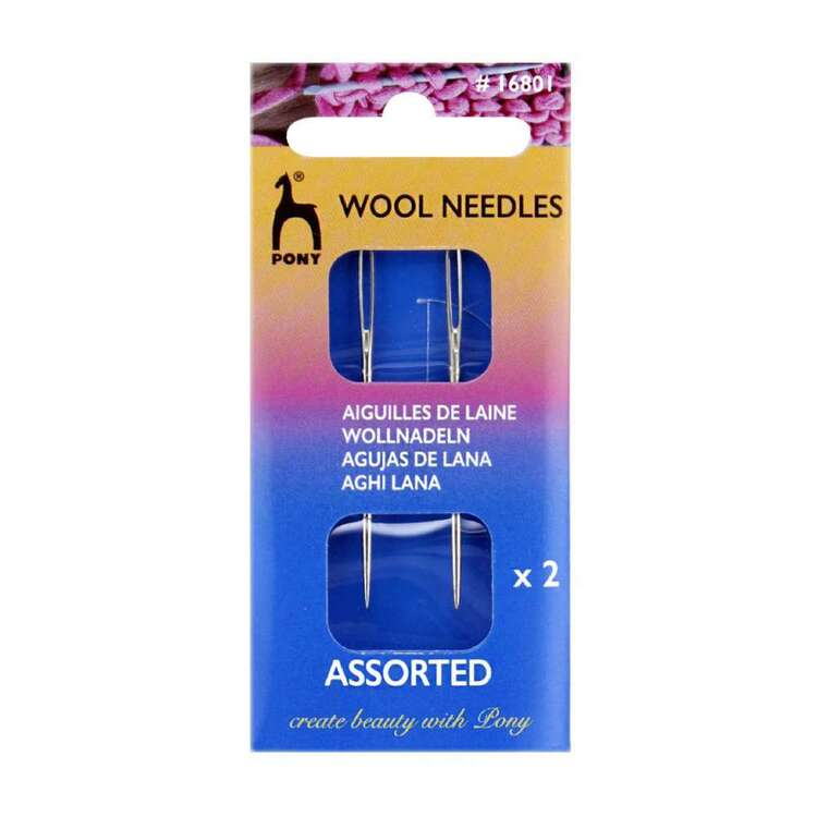 Pony Wool Grey Needles