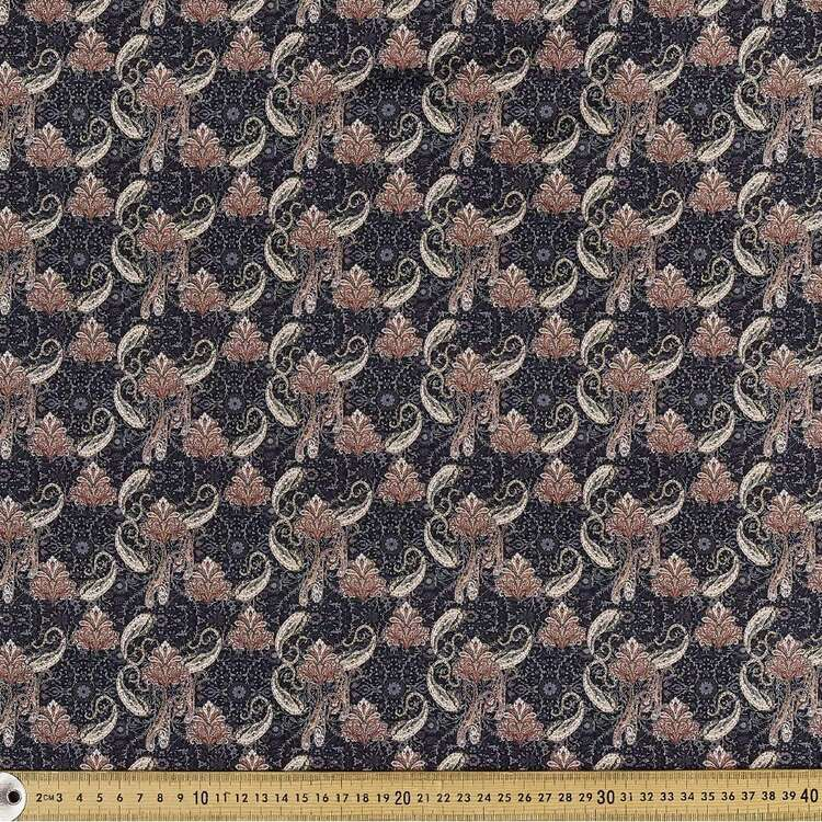 Decadence Digital Printed 142 cm Combed Cotton Sateen Fabric