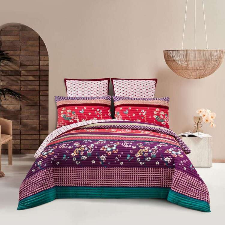 KOO Maisie Quilted Quilt Cover Set