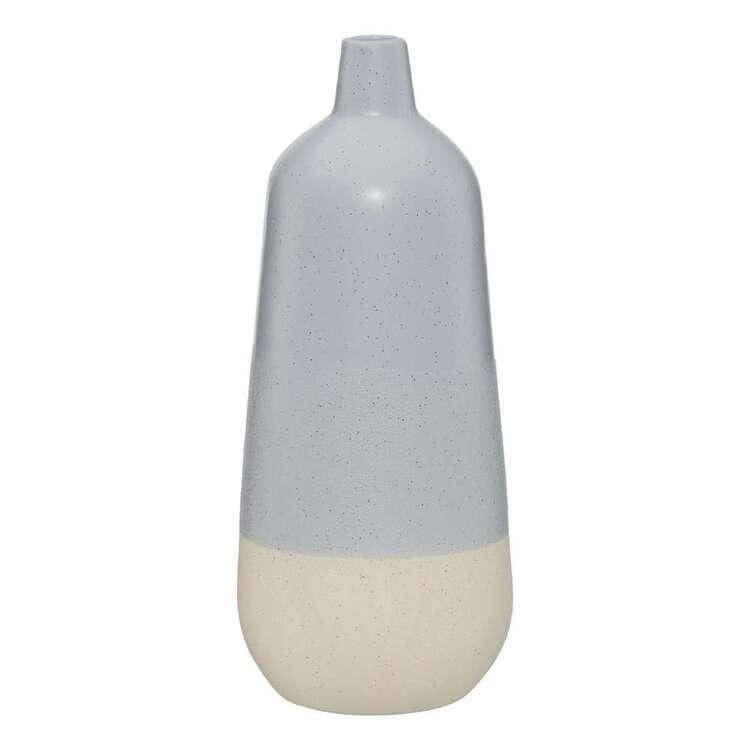 Bouclair Globe Trotter Ceramic Two Tone Vase