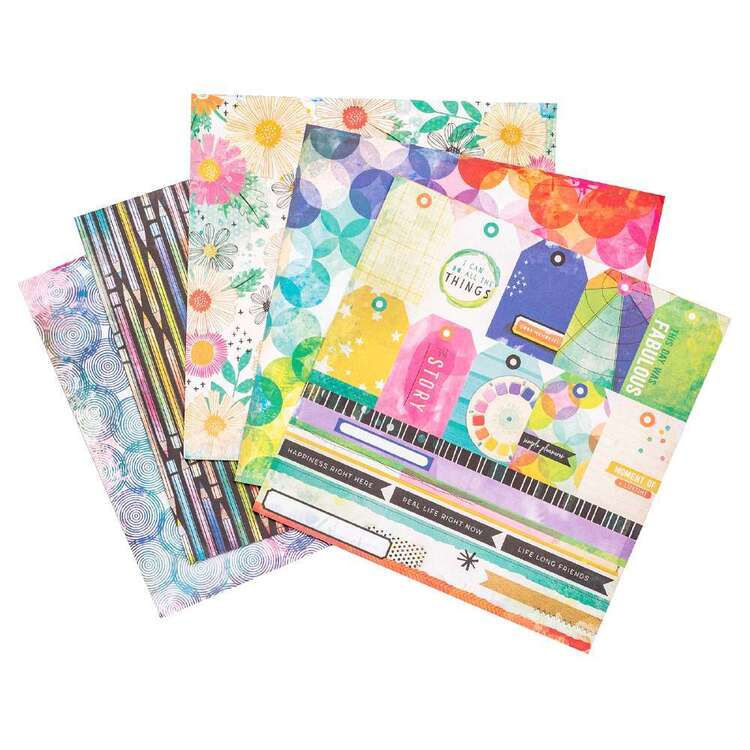 American Crafts 6 x 8 in Vicki Boutin Color Study Paper Pad