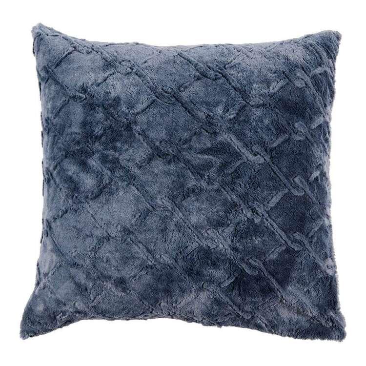 KOO Chain Link Faux Fur European Pillowcase