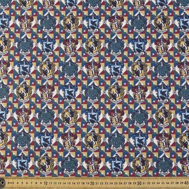 Harry Potter Houses Argyle Double Knit Cotton Fabric