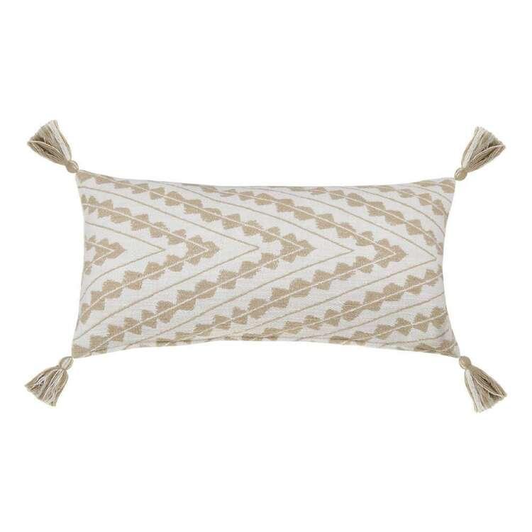Bouclair Globe Trotter Moreen Lumbar Cushion