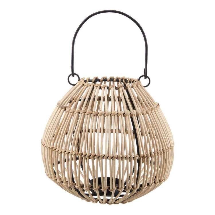 Bouclair Refined Tropics 15 x 15 cm Rattan Lantern