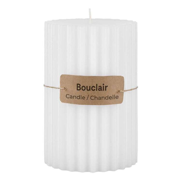 Bouclair Refined Tropics Ribbed Candle