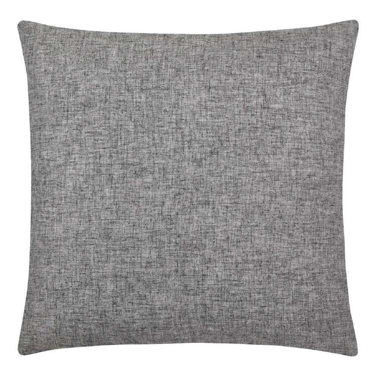 Bouclair Refined Tropics Lorena Grey Linen Cushion