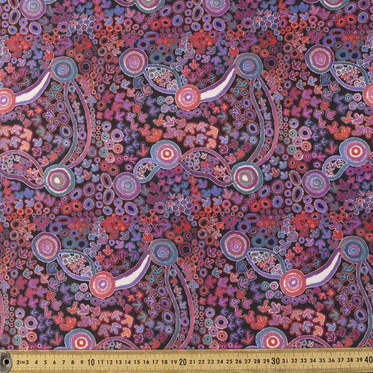 Emu Dreaming Cotton Fabric # 2