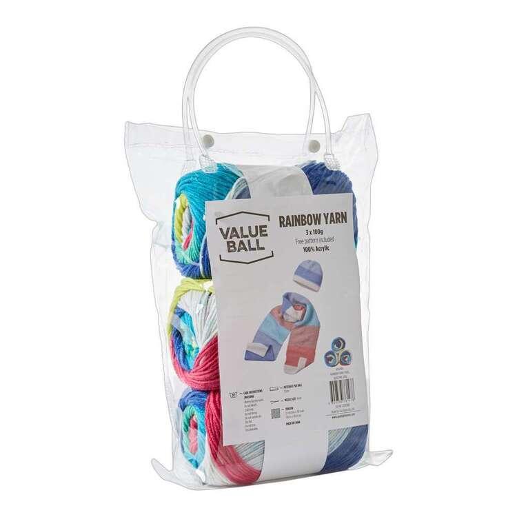 Value Ball Rainbow Yarn Pack