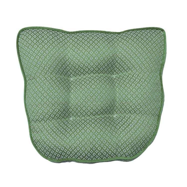 KOO Diamond Jacquard Chair Pad