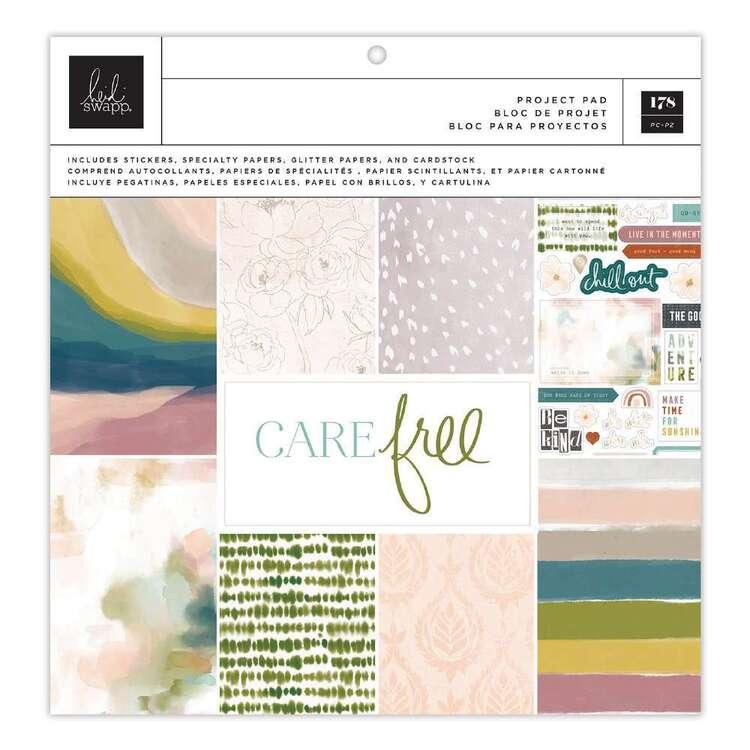 Heidi Swapp 12 x 12 in Carefree Paper Pad