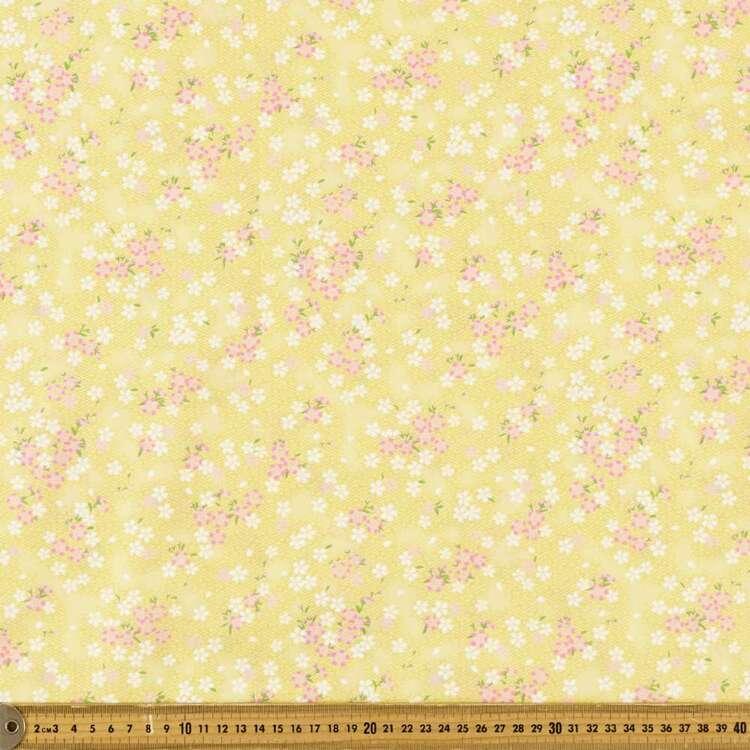 Oriental TC Geo Printed 112 cm Polyester Cotton Poplin Fabric